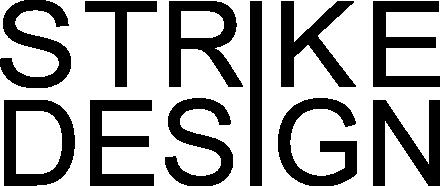 strike design logo